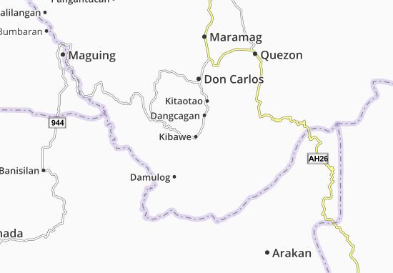 Mappe-Piantine Kibawe
