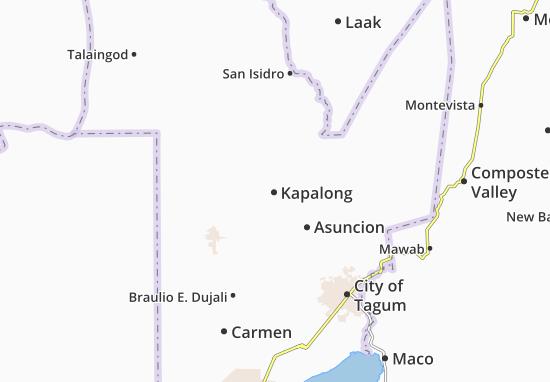 Mappe-Piantine Kapalong