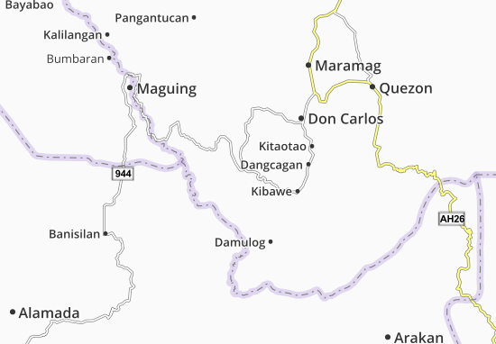 Mappe-Piantine Kadingilan