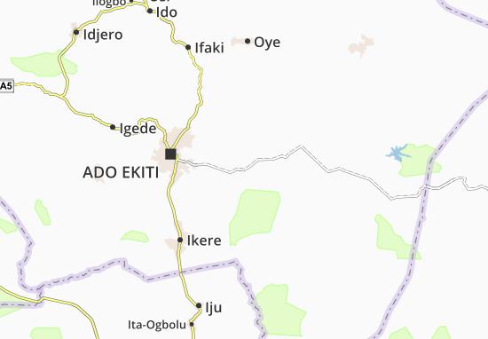 Carte-Plan Aduloju