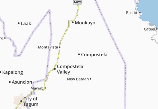 Mappe-Piantine Compostela