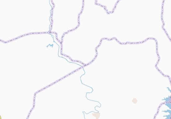 Carte-Plan Bouaka