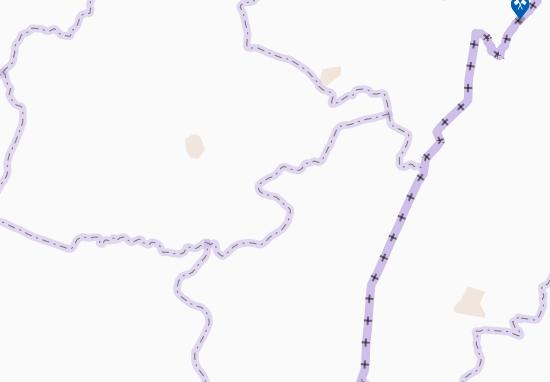 Carte-Plan Mérékrou