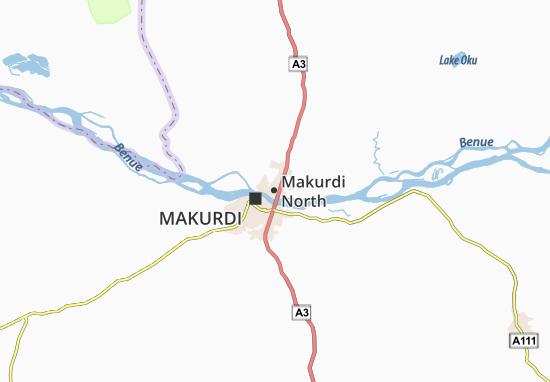 Carte-Plan Makurdi North