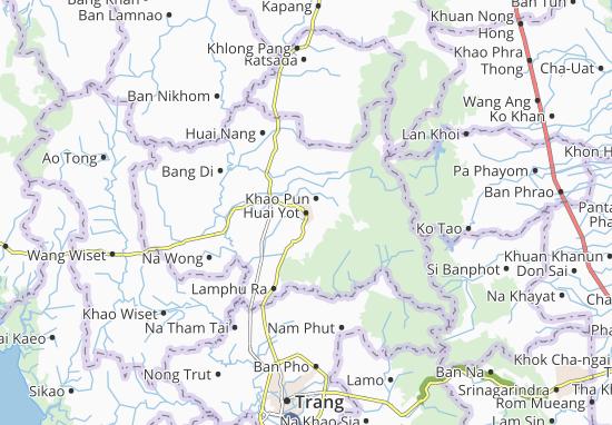 Huai Yot Map