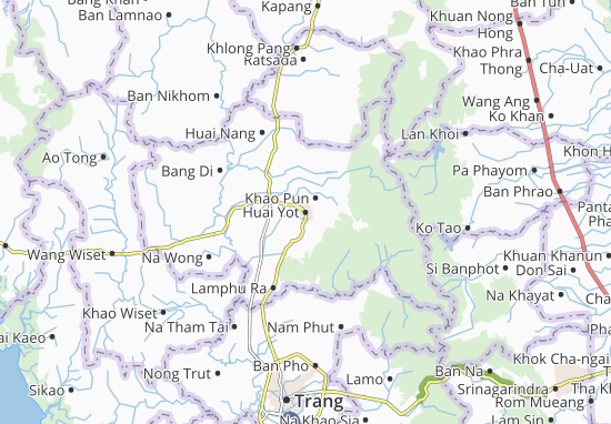 Mapas-Planos Huai Yot