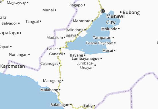 Carte-Plan Binidayan