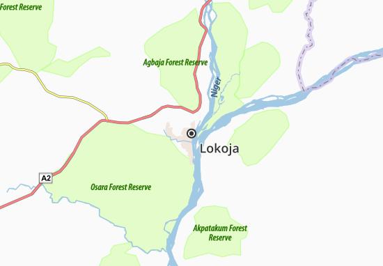 Carte-Plan Lokoja