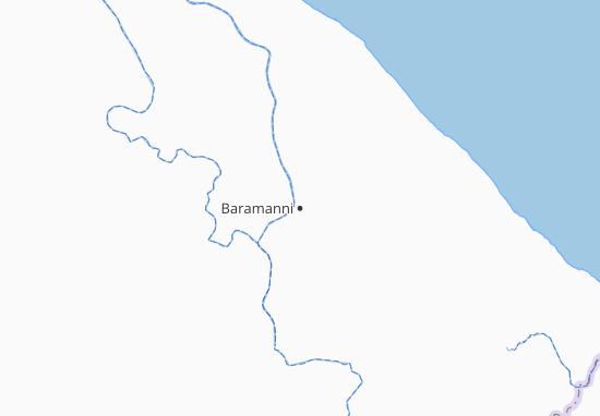 Kaart Plattegrond Baramanni
