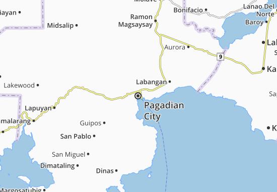 Carte-Plan Pagadian City