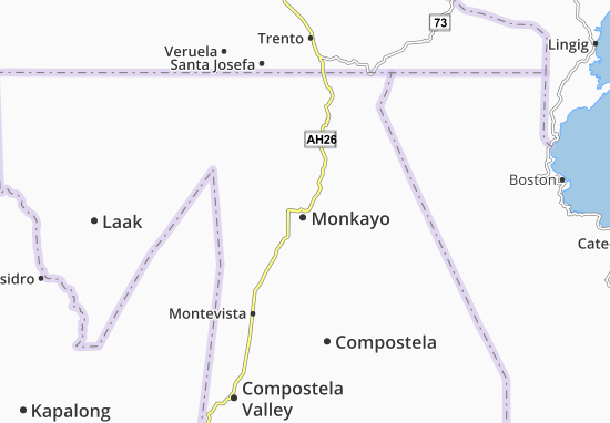 Mappe-Piantine Monkayo