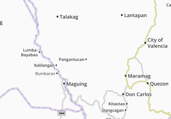 Mappe-Piantine Pangantucan