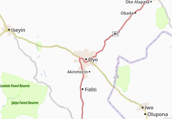 Oyo Map