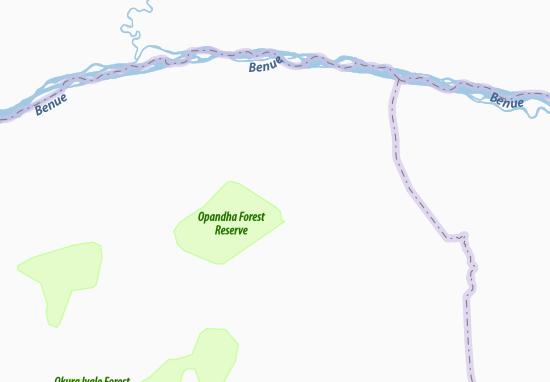 Carte-Plan Abejukolo
