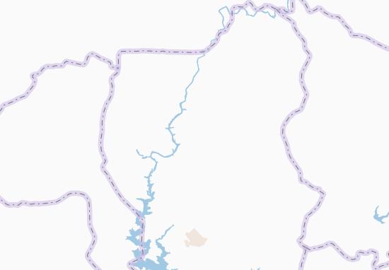 Carte-Plan Akoumiakro