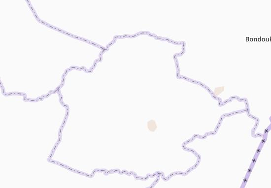 Carte-Plan Kouassi-Diadoukro