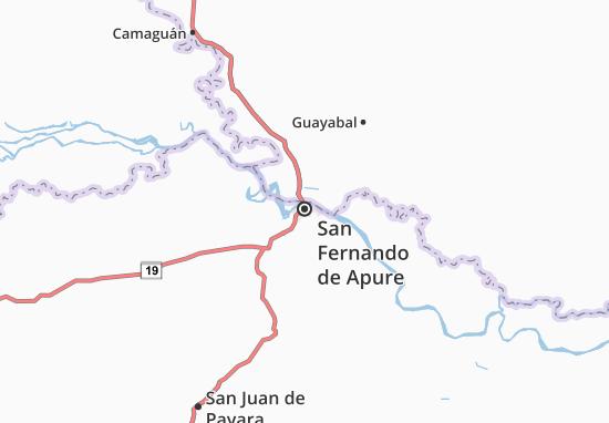 Carte-Plan San Fernando de Apure