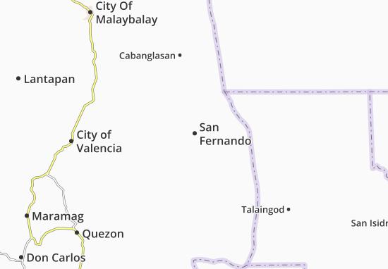 Mappe-Piantine San Fernando