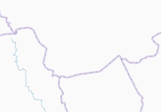Carte-Plan Ouéréniagbéré