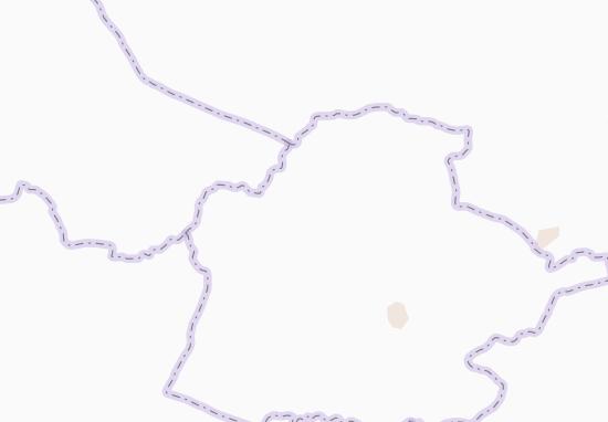 Carte-Plan Sékré-Bango