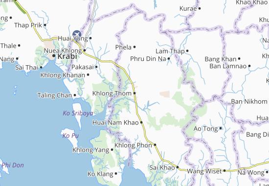 Mappe-Piantine Khlong Thom