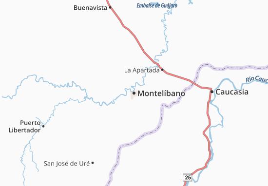 Carte-Plan Montelíbano