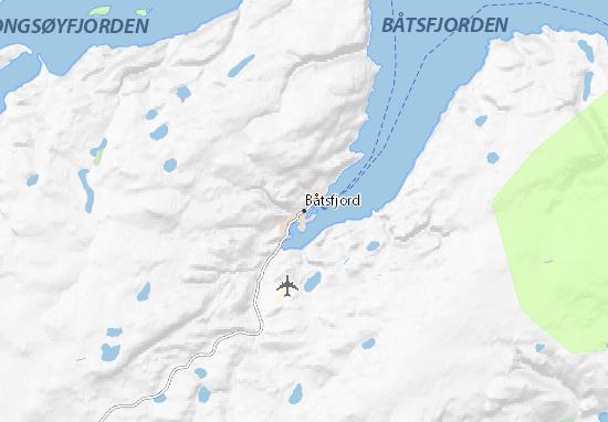 Mapas-Planos Båtsfjord