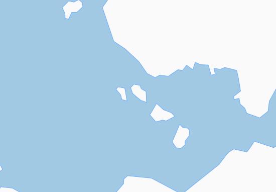 Kaart Plattegrond Kangersuatsiaq