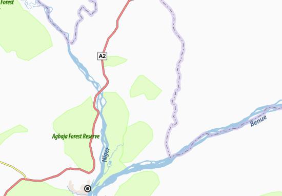 Carte-Plan Abehu