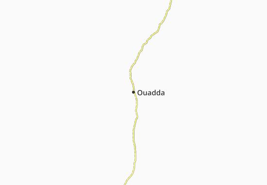 Carte-Plan Ouadda
