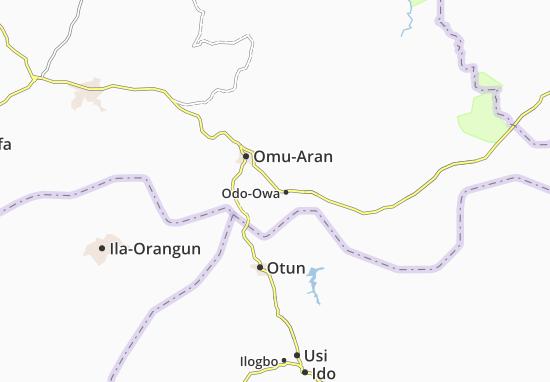 Carte-Plan Ilofa