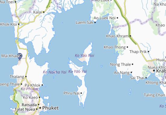 Ko Yao Map