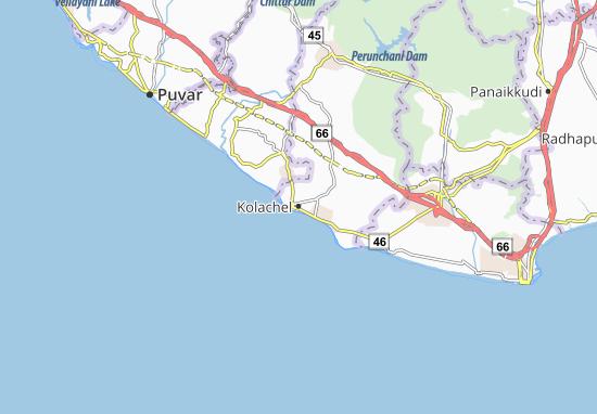 Kolachel Map
