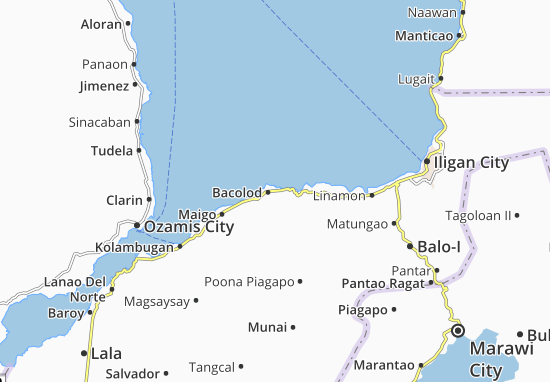 Map Of Bacolod Michelin Bacolod Map ViaMichelin - Bacolod map