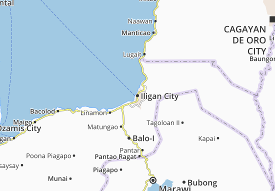 Mappe-Piantine Iligan City