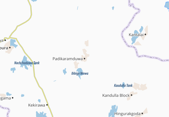 Carte-Plan Padikaramduwa