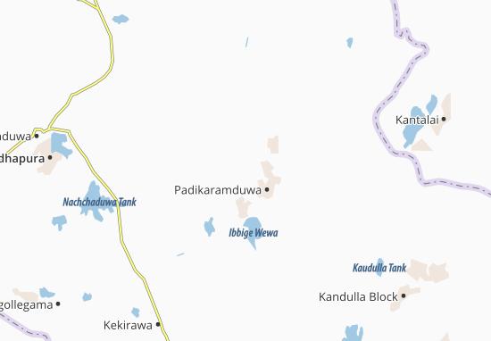 Galenbinduwewa Map