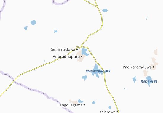 Carte-Plan Anuradhapura