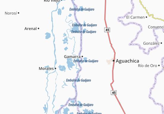 Carte-Plan Gamarra
