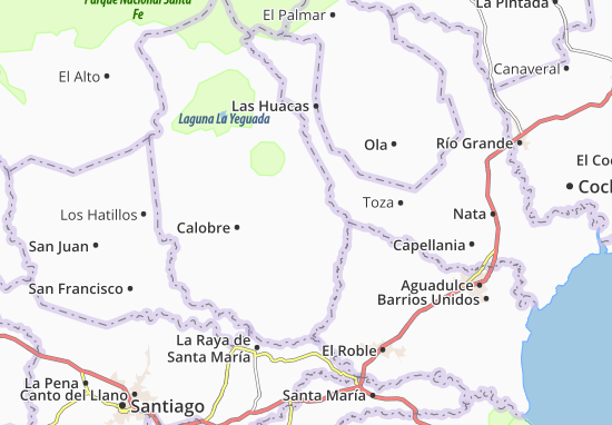 Colorado Karte.Karte Stadtplan Llano Colorado Viamichelin