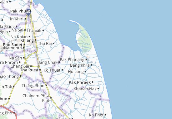 Carte-Plan Pak Phanang