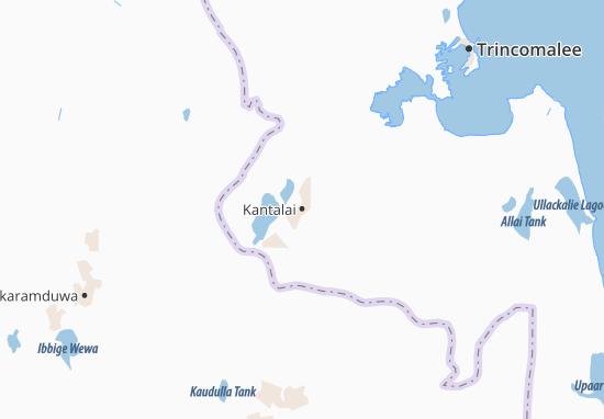 Kantalai Map
