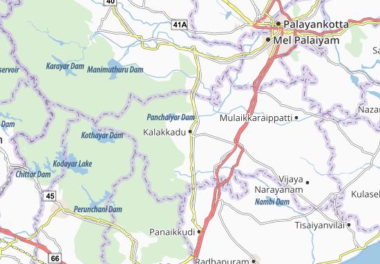 Mappe-Piantine Kalakkadu