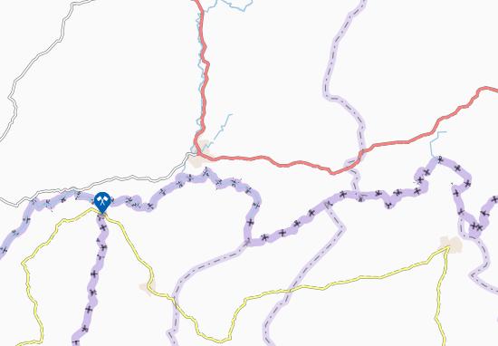 Carte-Plan Ouokouama