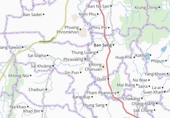 Phrasaeng Map