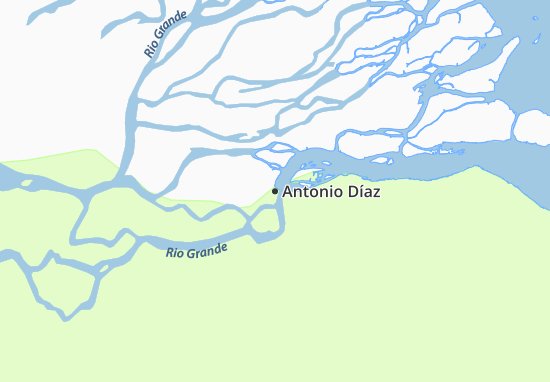 Carte-Plan Antonio Díaz