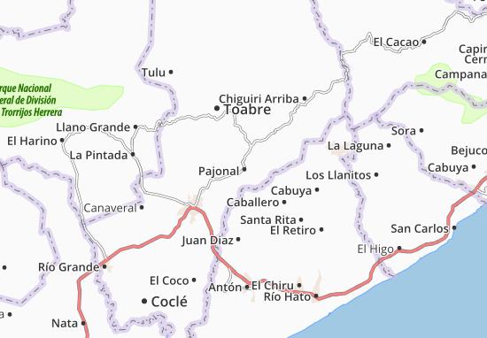 Carte-Plan Pajonal