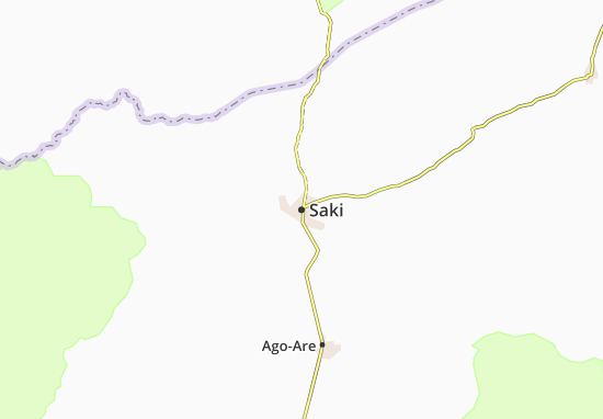 Carte-Plan Saki