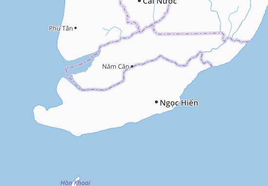 Tân Ân Tây Map