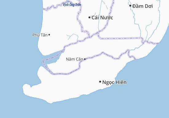 Năm Căn Map